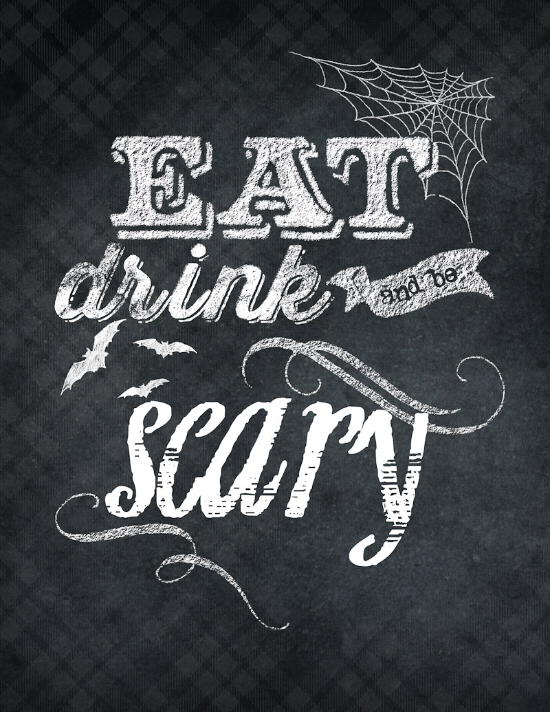 Eat Drink and Be Scary graphic